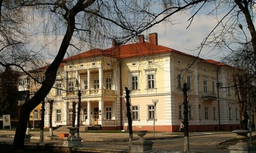 UKRAINA / Ukraina Zachodnia / Drohobycz / architektura Drohobycza