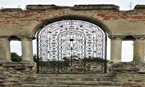 Zdjecie UKRAINA / Chmielnicki  / Kamieniec Podolski  / Ruiny kościoła