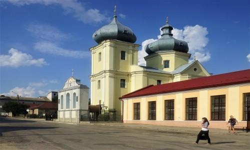 Zdjęcie UKRAINA / Obwód Tarnopolski / Zbaraż / Kościół Zmartwychwstania Pańskiego