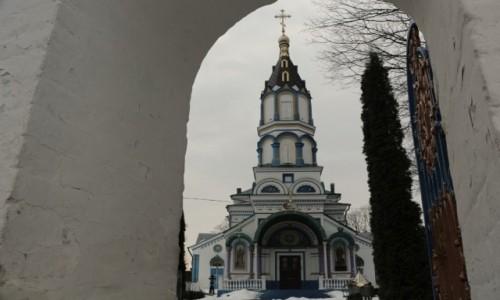 Zdjęcie UKRAINA / obwód Kijowski / Czarnobyl/Prypeć / cerkiew