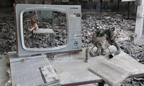 Zdjęcie UKRAINA / obwód Kijowski / Czarnobyl/Prypeć / wiadomości czarnobylskie