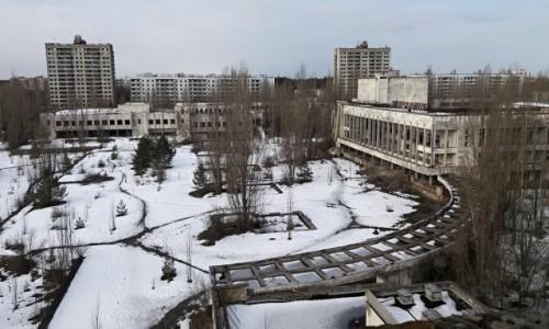 Zdjęcie UKRAINA / obwód Kijowski / Czarnobyl/Prypeć / Prypeć-centrum