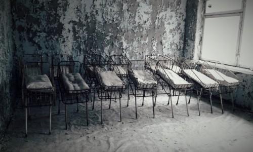 Zdjęcie UKRAINA / obwód Kijowski / Czarnobyl/Prypeć / porodówka