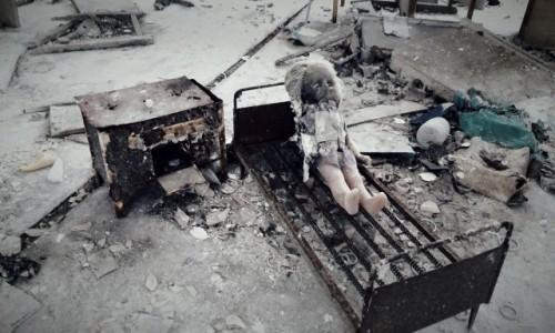 Zdjecie UKRAINA / obwód Kijowski / Czarnobyl/Prypeć / przedszkole