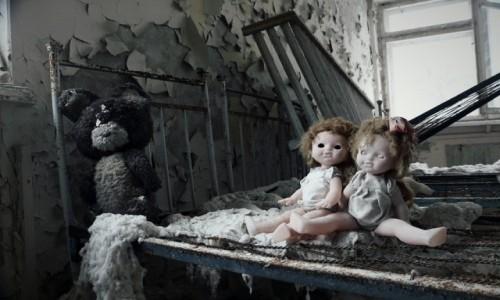 Zdjecie UKRAINA / obwód Kijowski / Czarnobyl/Prypeć / modelki