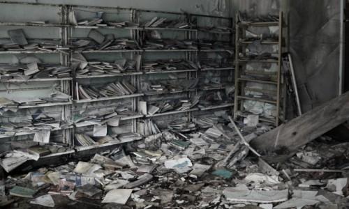 Zdjecie UKRAINA / obwód Kijowski / Czarnobyl/Prypeć / Czarnobyl biblioteka