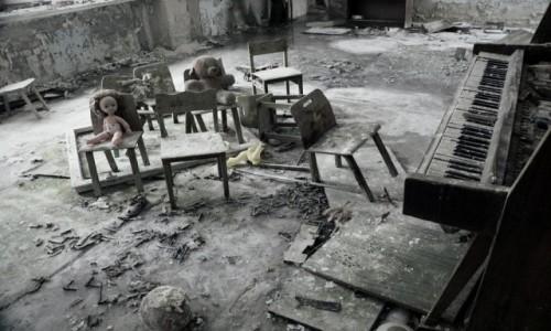 Zdjecie UKRAINA / obwód Kijowski / Czarnobyl/Prypeć / koncert