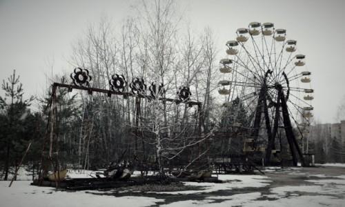 Zdjęcie UKRAINA / obwód Kijowski / Czarnobyl/Prypeć / niewesołe miasteczko