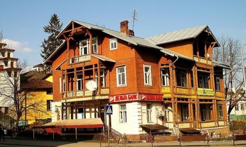 UKRAINA / Ukraina Zachodnia / Truskawiec / przedwojenny pensjonat