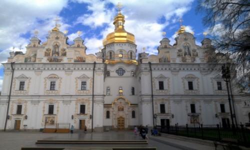Zdjęcie UKRAINA / Kijów / Ławra Peczerska / Sobór Uspieński