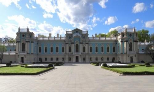 Zdjecie UKRAINA / Kjiów / Kijów / Pałac Maryjski