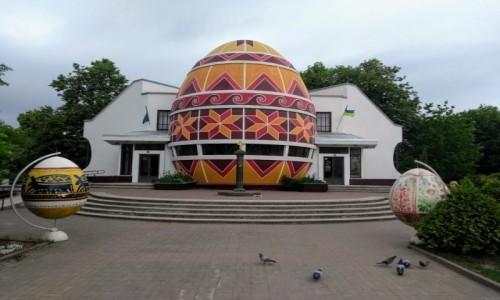 UKRAINA / Iwano-Frankiwsk / Kołomyja / Muzeum Pisanki