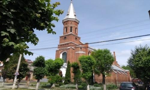 UKRAINA / Iwano-Frankiwsk / Kołomyja / Kościół p w MB Częstochowskiej