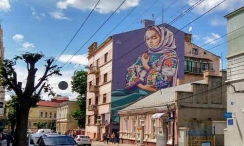 Zdjęcie UKRAINA / Bukowina / Czerniowce / Wyszywanka