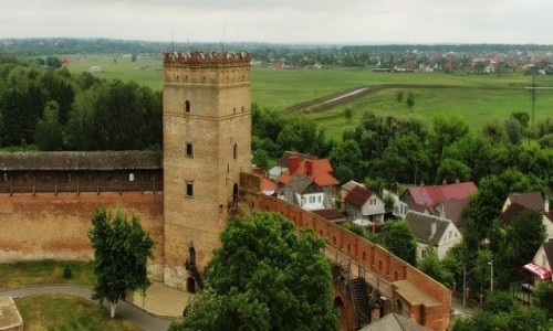 UKRAINA / Wołyń / Łuck / Na zamku Lubarta