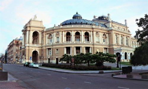 Zdjęcie UKRAINA / Odessa / ul. Czajkowskiego / Teatr Opery i Baletu