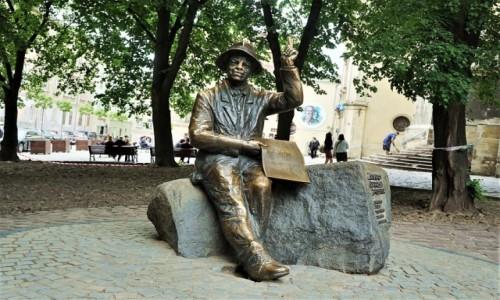 Zdjecie UKRAINA / Lwów / . / Pomnik Nikifora Krynickiego
