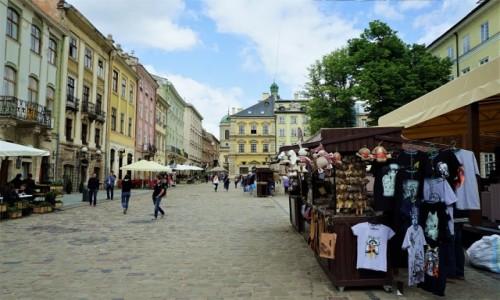 Zdjęcie UKRAINA / Lwów / Rynek / Kamieniczki