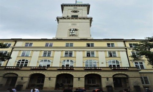 Zdjęcie UKRAINA / Lwów / Rynek / Ratusz