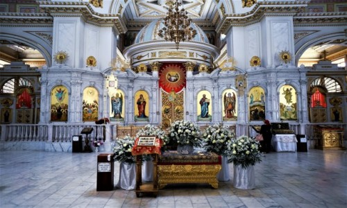 Zdjecie UKRAINA / Odessa / Plac Soborowy / Sobór katedralny Przemienienia Pańskiego