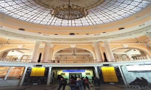 Zdjecie UKRAINA / Odessa / Dworzec kolejowy / Hol