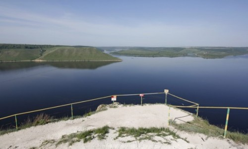 Zdjęcie UKRAINA / Podole / Bakota / Zatoka Bakotska na Dniestrze