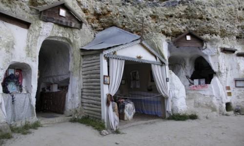 Zdjęcie UKRAINA / Podole / Bakota / Pieczary monasteru św. Michała Archanioła w Bakocie