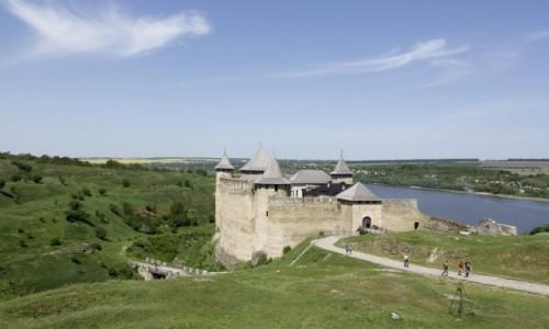 Zdjęcie UKRAINA / Bukowina / Chocim / Zamek w Chocimiu