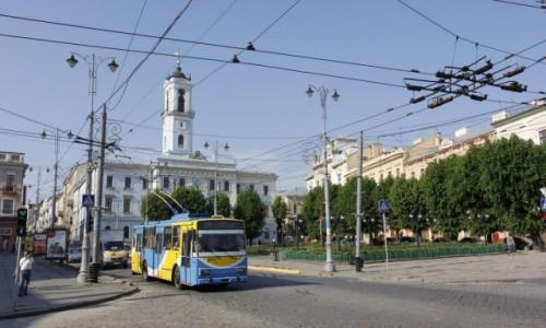 Zdjęcie UKRAINA / Bukowina / Czerniowce / Czerniowce – centrum