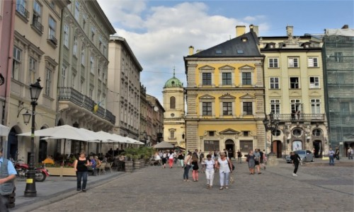 Zdjęcie UKRAINA / Obwód lwowski / Lwów / Lwów, rynek