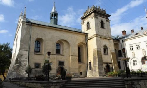 Zdjęcie UKRAINA / Obwód lwowski / Lwów / Kościół Wszystkich Świętych i klasztor Benedyktynek we Lwowie
