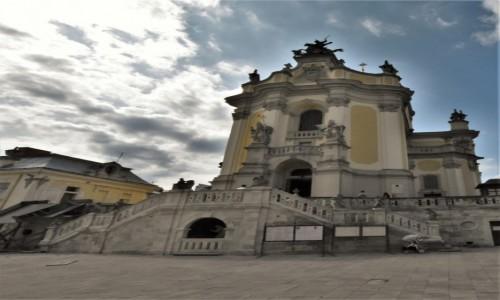 Zdjęcie UKRAINA / Obwód lwowski / Lwów / Lwów, katedra św. Jura