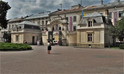 Zdjecie UKRAINA / Obwód lwowski / Lwów / Lwów, pałac potockich