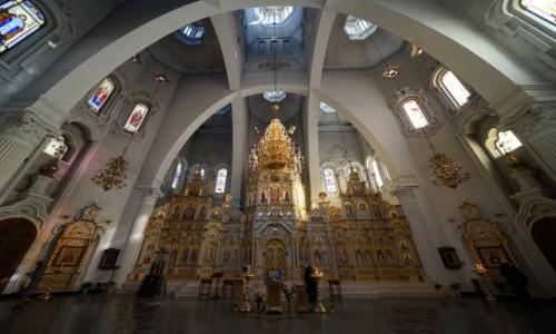 Zdjęcie UKRAINA / Charków / Cerkiew Świętych Mędrców Mirry / Ikonostas