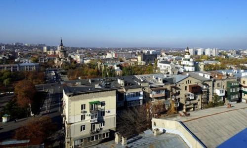 Zdjęcie UKRAINA / Charków / . / Ponad dachami
