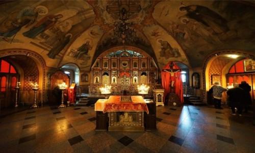 Zdjecie UKRAINA / Charków / Sobór Opieki Matki Bożej / Wnętrze świątyni