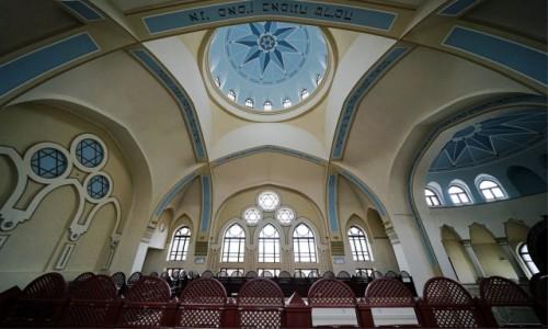 Zdjęcie UKRAINA / Charków / Synagoga Bejt-Menachem / Część chóralna