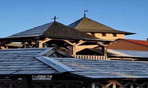 Zdjęcie UKRAINA / brak / Łuck / widok na fragment dachu
