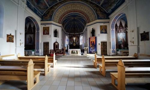Zdjecie UKRAINA / Charków / Katedra Wniebowzięcia Najświętszej Maryi Panny / Nawa główna