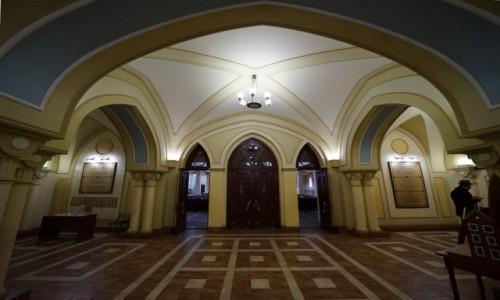 Zdjecie UKRAINA / Charków / Synagoga Bejt-Menachem / Korytarz