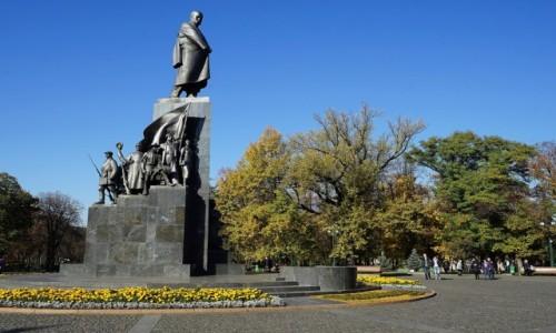 Zdjecie UKRAINA / Charków / Park Szewczenki / Pomnik Tarasa Szewczenki