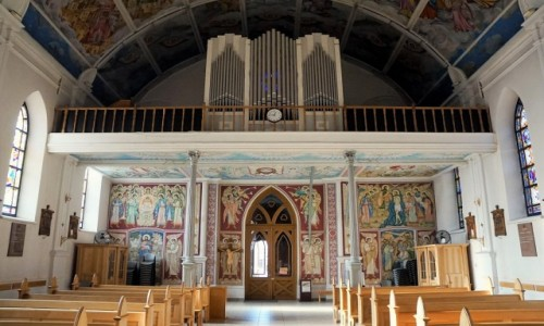 UKRAINA / Charków / Katedra Wniebowzięcia Najświętszej Maryi Panny / Chór