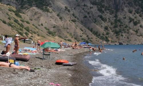 Zdjecie UKRAINA / Krym / Veseloye / Krymskie plaże