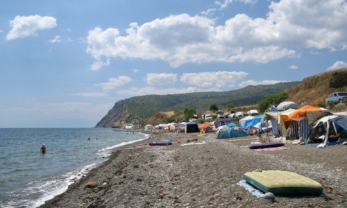 Zdjęcie UKRAINA / Krym / Veseloye / Krymskie plaże