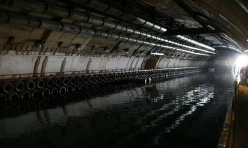 Zdjecie UKRAINA / Krym / Bałakława / Wykuta w skale baza łodzi podwodnych
