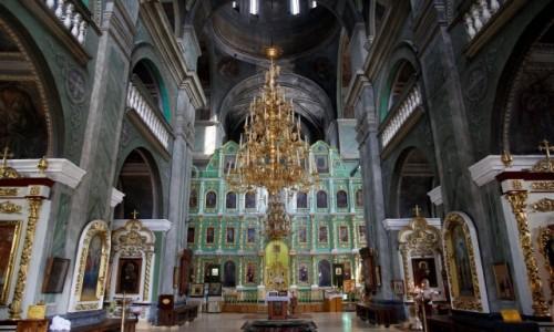Zdjecie UKRAINA / Obwód czernihowski / Czernihów / Wnętrze Soboru św. Trójcy