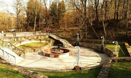 Zdjecie UKRAINA / Ukraina Zachodnia / Truskawiec / park zdrojowy
