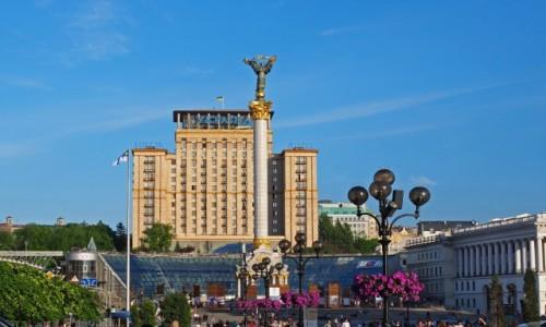 Zdjęcie UKRAINA / Obwód kijowski / Kijów, Plac Niepodległości / Monument Niezależności