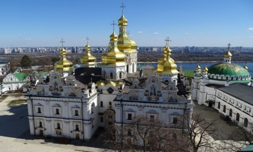 Zdjęcie UKRAINA / stołeczny / Kijów / Ławra Peczerska