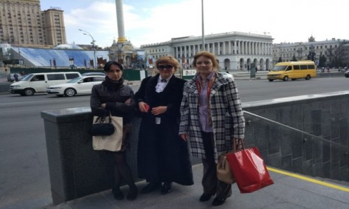 UKRAINA / Kijów / Majdan Niepodleglośći / Majdan Niepodleglośći-2